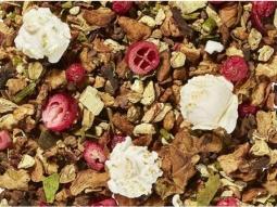 Früchtetee Popcorn-Ingwer-Zimt