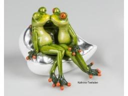 Froschpaar auf Sofa