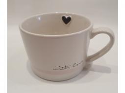 Kaffeetasse Steingut