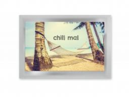 "Tee-Postkarte ""Chill mal"""
