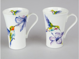 Becher Latte Kolibri Bone China