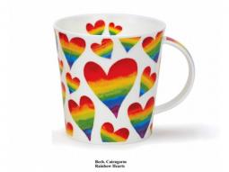 Becher Cairngorm Rainbow Hearts
