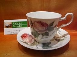 Redoute Rose Kaffeetasse Fine Bone Ch..