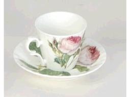 Redoute Rose Espressotasse
