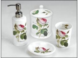 Diverse Artikel fürs Badezimmer Redoute Rose