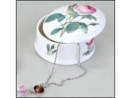 Redoute Roses Schmuckdose 8cm