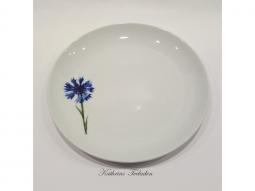 Dessertteller Sonnenblume, Iris, Kornblume