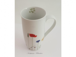 Henkelbecher Naturwiese Blume 0,5l