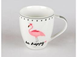 Becher Flamingo 0,5l be happy