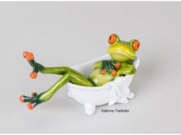 Frosch in Badewanne
