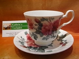 Engl.Rose Kaffeetasse Fine Bone China